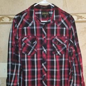 Helix plaid shirt
